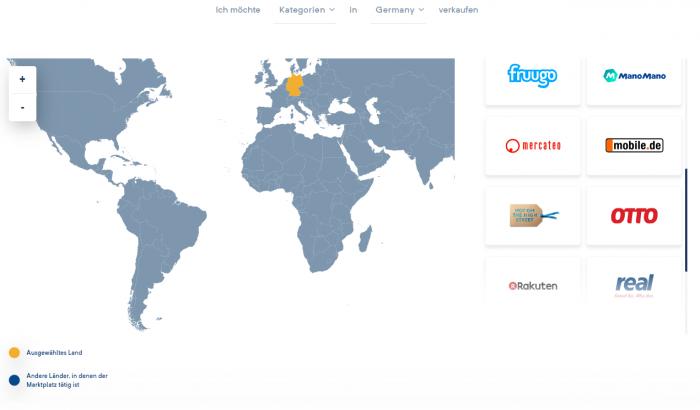 Den passenden Online-Marktplatz finden mit der Marktplatz-Suchfunktion von Lengow