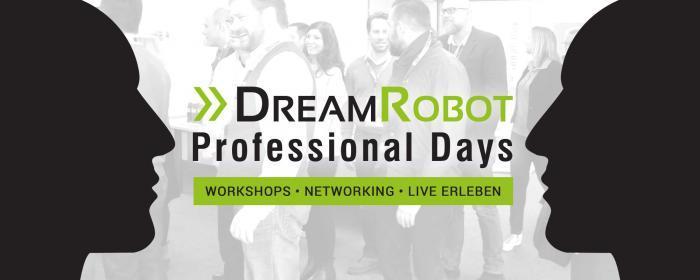 Die DreamRobot GmbH lädt Online-Händler zum Professional Day