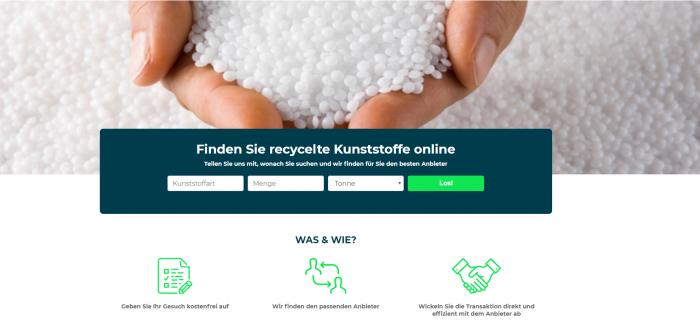 Online-Marktplatz Cirplus ermöglicht Handel mit wiederverwertbarem Plastik