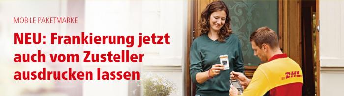 Neuer Service ermöglicht noch bequemeren Versand von DHL Päckchen und Paketen direkt an der Wohnungstür