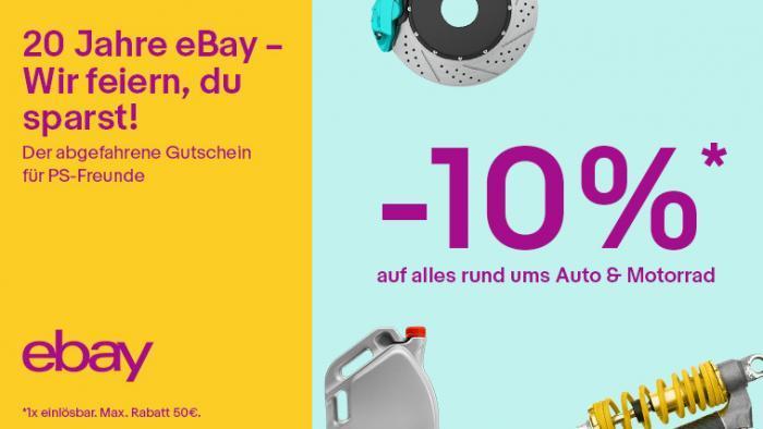 Die Feier geht weiter – eBay Deutschland feiert 20. Geburtstag mit noch mehr neuen Top-Deals