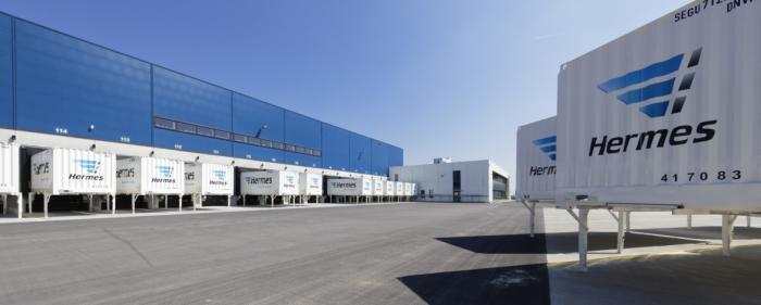 Hermes Logistik-Center in Bad Rappenau (Foto: Hermes)