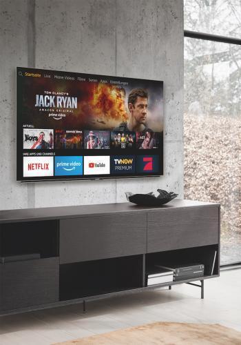 Amazon kündigt gemeinsam mit Partnern die ersten Fire TV Edition Smart-TVs und Soundbars an