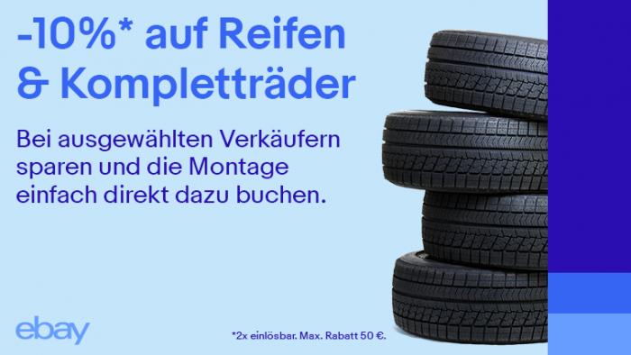 Mit eBay beim Reifenkauf sparen und das Auto für die kalte Jahreszeit vorbereiten