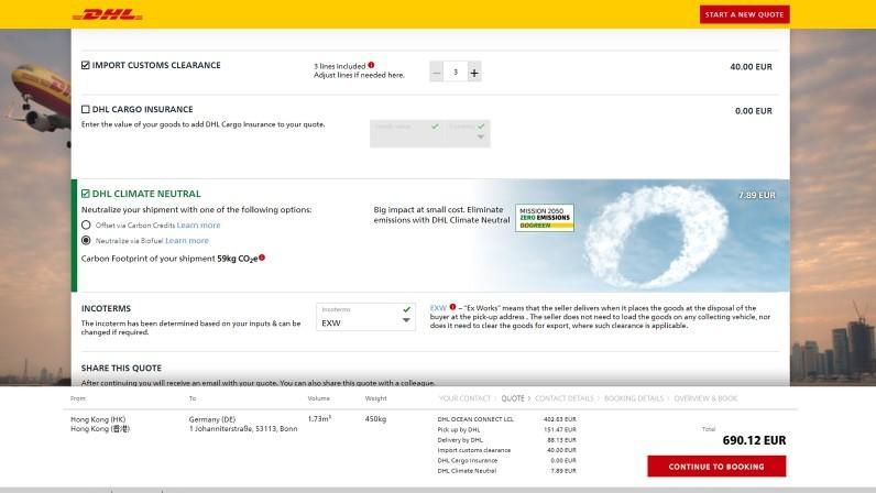 Neuer Online-Service myDHLi Analytics liefert Kunden umfassende Analysefunktionen für ihre Daten