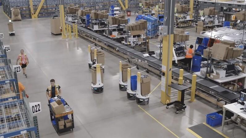 DHL plant bis 2022 weltweit bis zu 2.000 dieser Kommissionier-Roboter einzusetzen und wird damit zum größten Abnehmer von Locus Robotics.